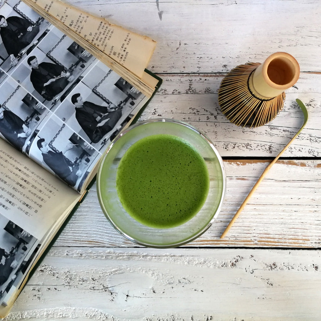 Calm Focus with Sipping Matcha