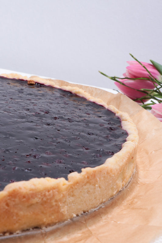 Laden Sie das Bild in den Galerie-Viewer, Blaubeer Tarte (vegan)