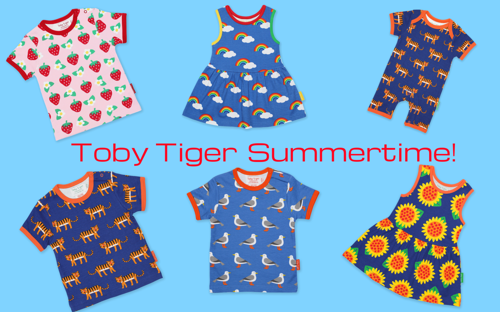 Toby Tiger organic kids clothes online at Scandi Down Under Australia
