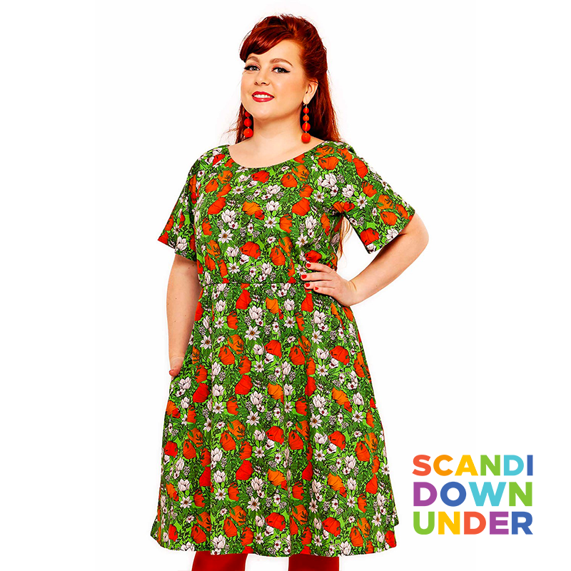 Cissi och Selma Poppy Adult Lilja Dress