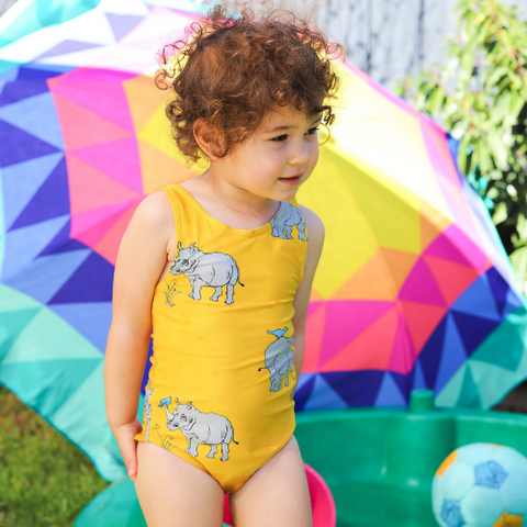 Oomph & Floss Rhinoceros Bathers