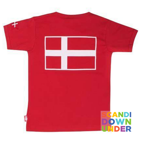 Danefae Erik the Viking Kids T-Shirt - Red
