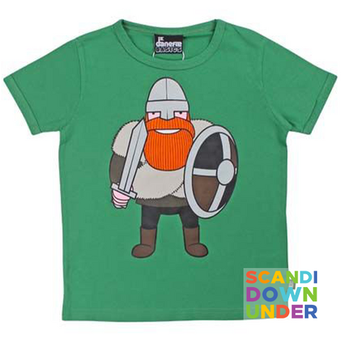 Danefae Ragnar the Viking T-Shirt - Green