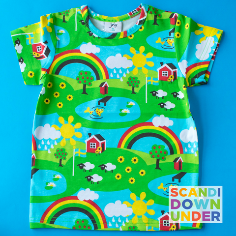 JNY Kids Summer Rainbow T-shirt