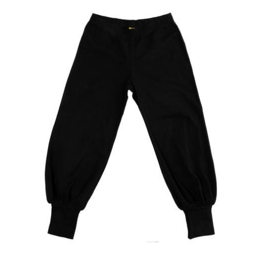 More Than A Fling Organic Baggy Pants - Black