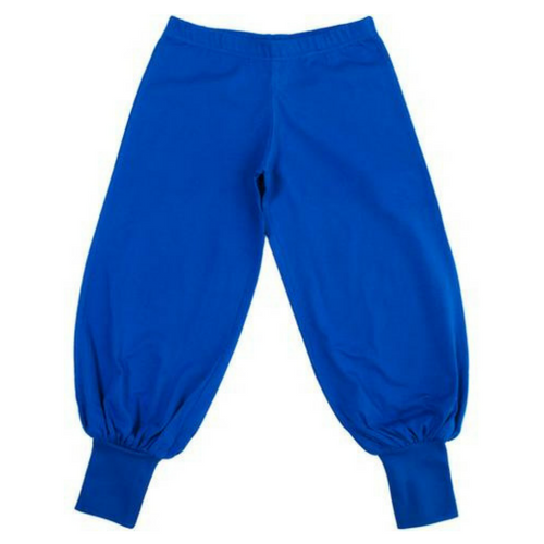 More Than A Fling Baggy Pants - Blue