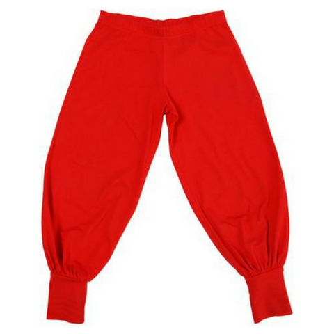 More Than A Fling Baggy Pants - Red