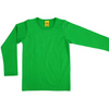 More Than A Fling Organic Long Sleeve Top - Bright Green