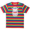 Danefae Erik the Viking Adult T-Shirt - Rainbow Stripes