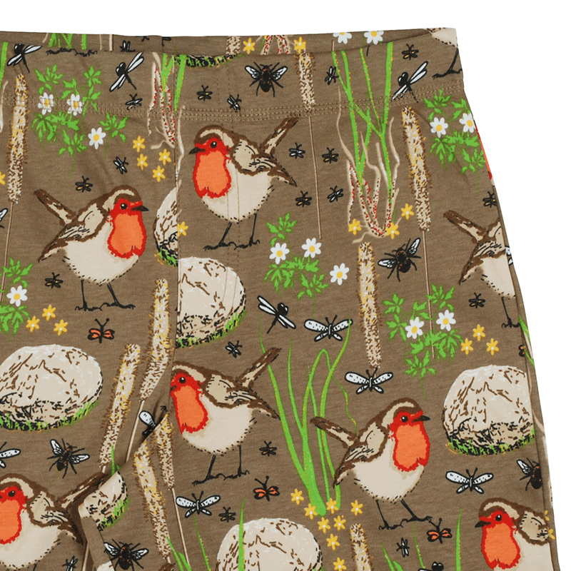 DUNS Sweden Robin Shorts - Timber Wolf