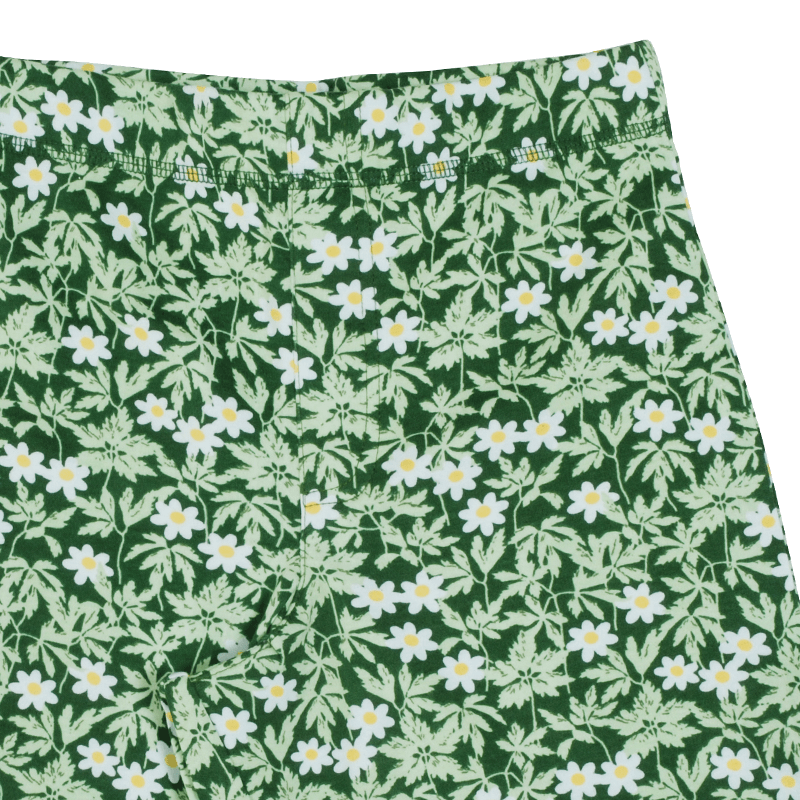 DUNS Sweden Wood Anemone Shorts - Green