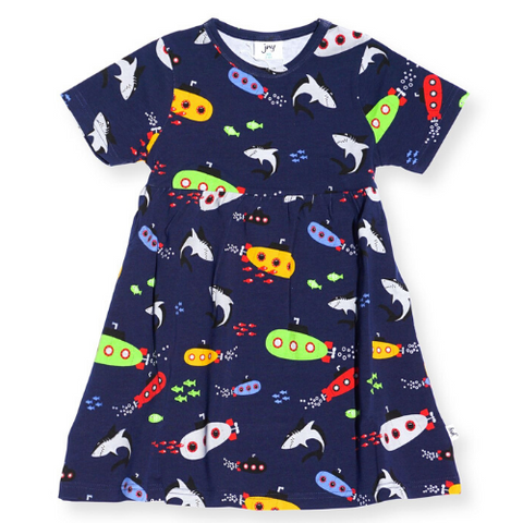 JNY Kids Submarine Short Sleeve Sweet Dress