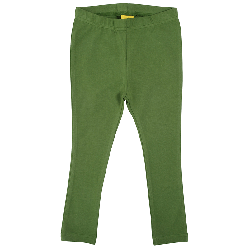 More Than A Fling by DUNS Leggings - Dill Green