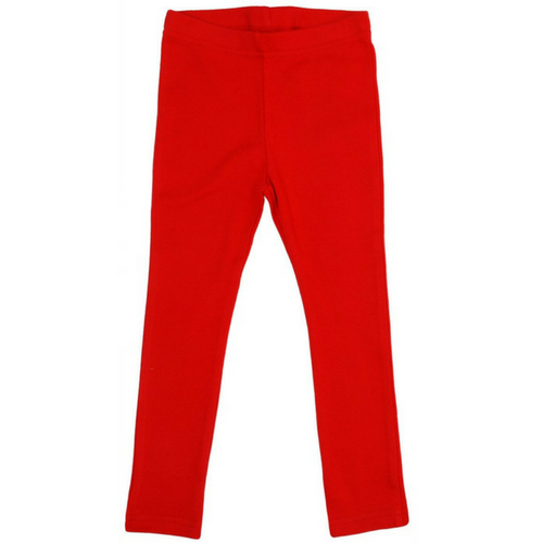 More Than A Fling Organic Leggings - Red - Scandi Down Under Australia
