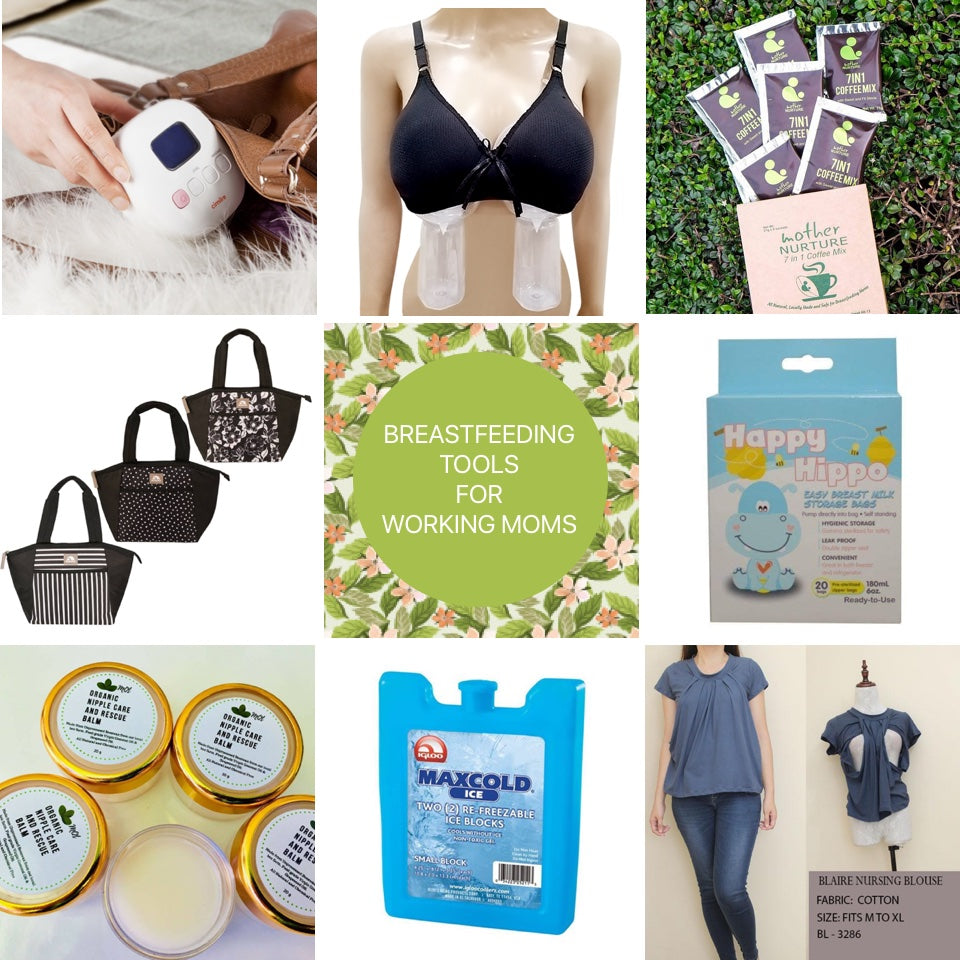 Breastfeeding Tools for Working Moms