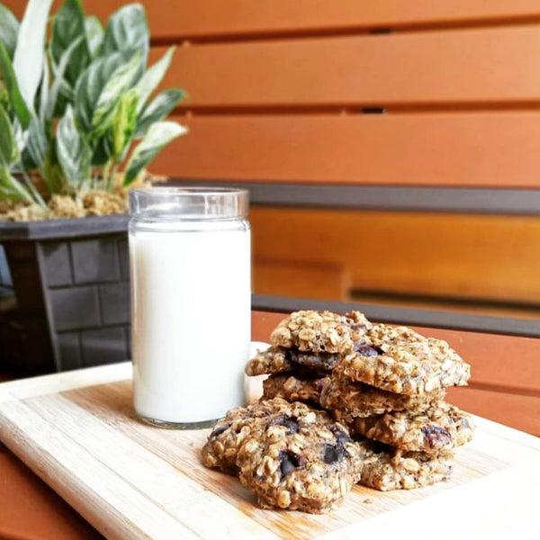 Chewy Chocolate Chips Oatmeal Lactation Cookies