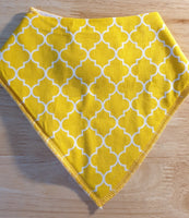 Orange Confetti Scarf Bib