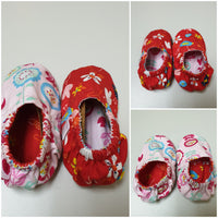 Little Miney Reversible Crib Shoes : Size Medium