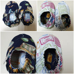 Little Miney Reversible Crib Shoes Size: Small