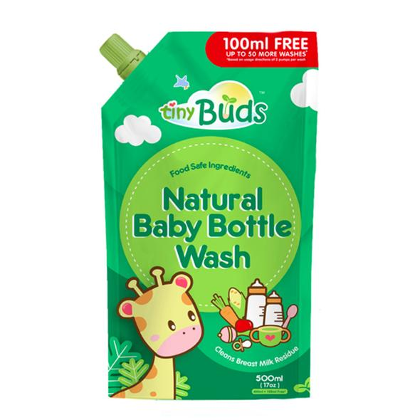 Tiny Buds Baby Bottle and Utensil Wash 500ml