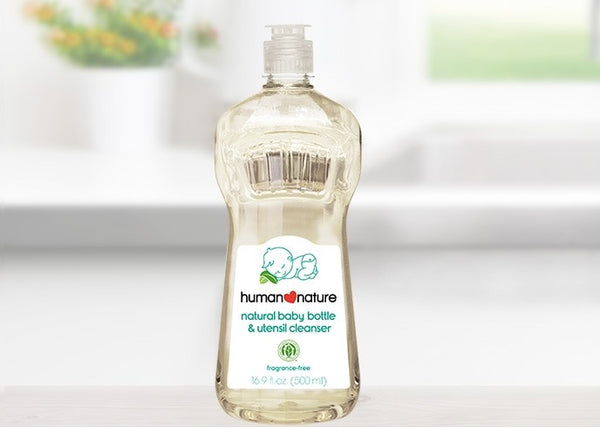 Human Nature Baby Bottle and Utensil Cleanser (500ml)