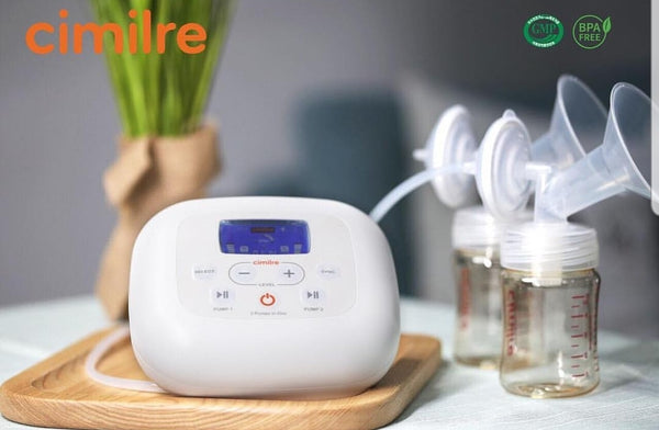 Cimilre S5 Twin Motor Rechargeable Hospital Grade Breast Pump