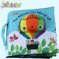 Little Xylo Cloth Book: The Wonderful World of Peek A Boo
