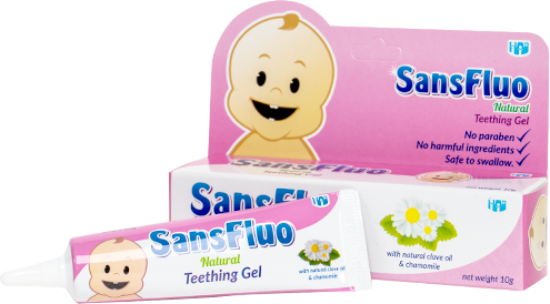 SansFluo Natural Teething Gel 10g