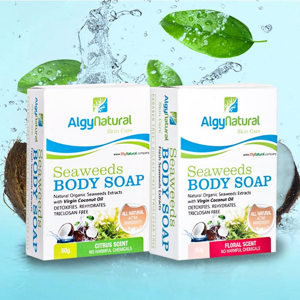 ALGYNATURAL VCO BATH SOAP