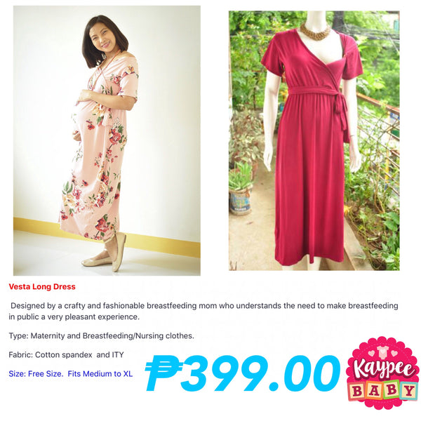 Kaypee Baby Vesta Long Dress