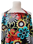 LITTLE COCOY NURSING APRON MIDNIGHT BLOOMS