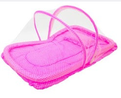 Precious and Vince Baby Bed with Net (Pink)