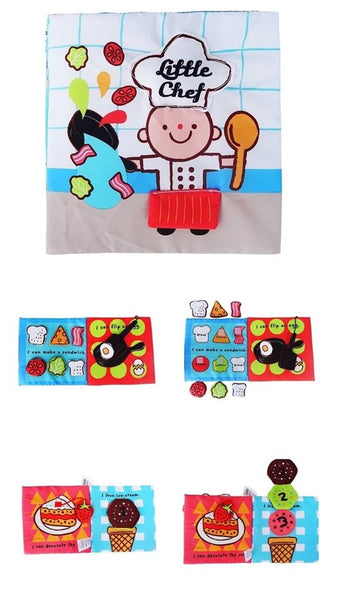 Little Xylo Cloth Book: Little Chef