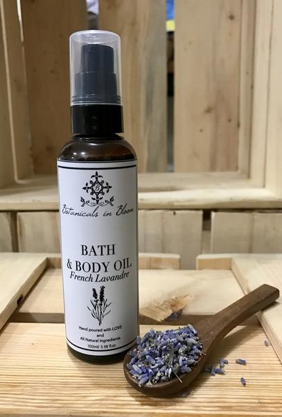 Botanicals in Blooms French Lavander Bath and Body Oil