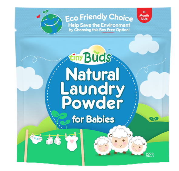 Tiny Buds Natural Laundry Powder 500g