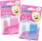 SansFluo Infant's Dental Brush and Gum Massager (0-1 yr old)