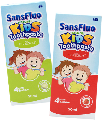 SansFluo Natural Kids Toothpaste 50 ml
