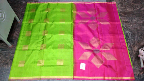 Light weight kancheevaram soft silk