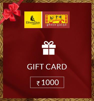 Gift Card Rs.1000