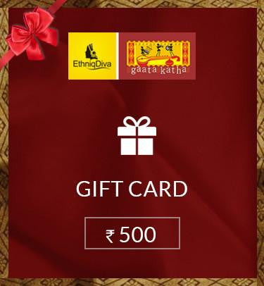 Gift Card Rs.500