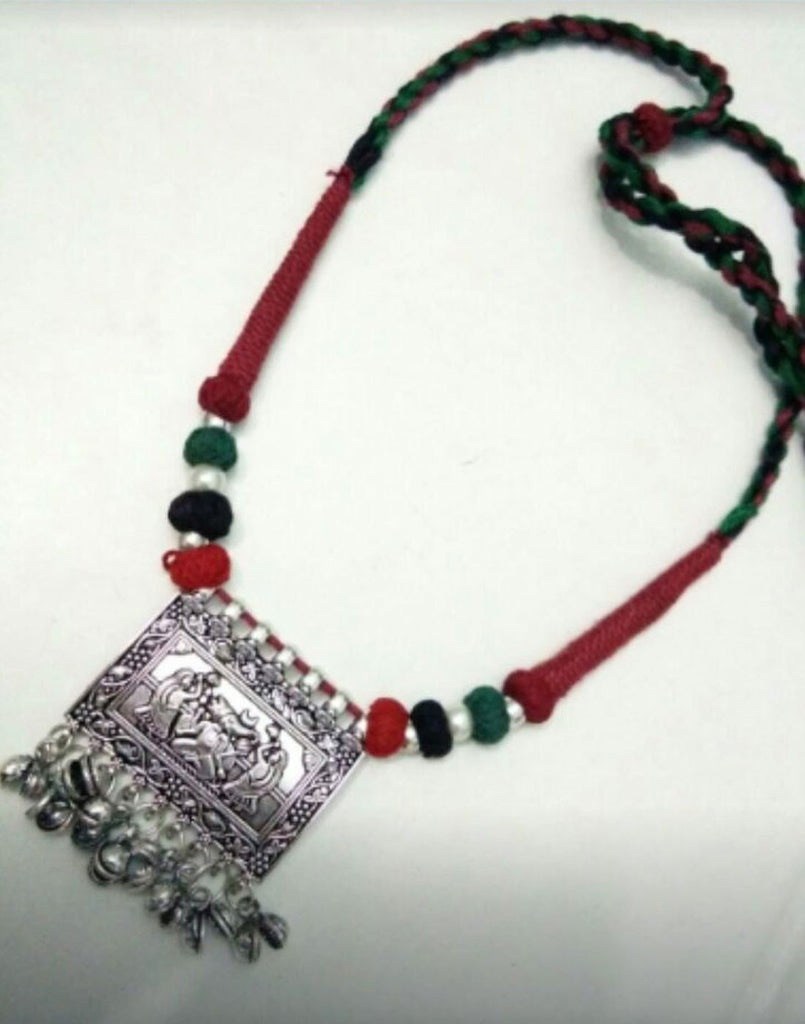 Thread With Square Pendent