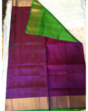 WineColoured Uppada Silk Saree