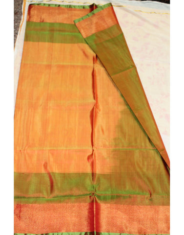 yellow Uppada Silk Saree