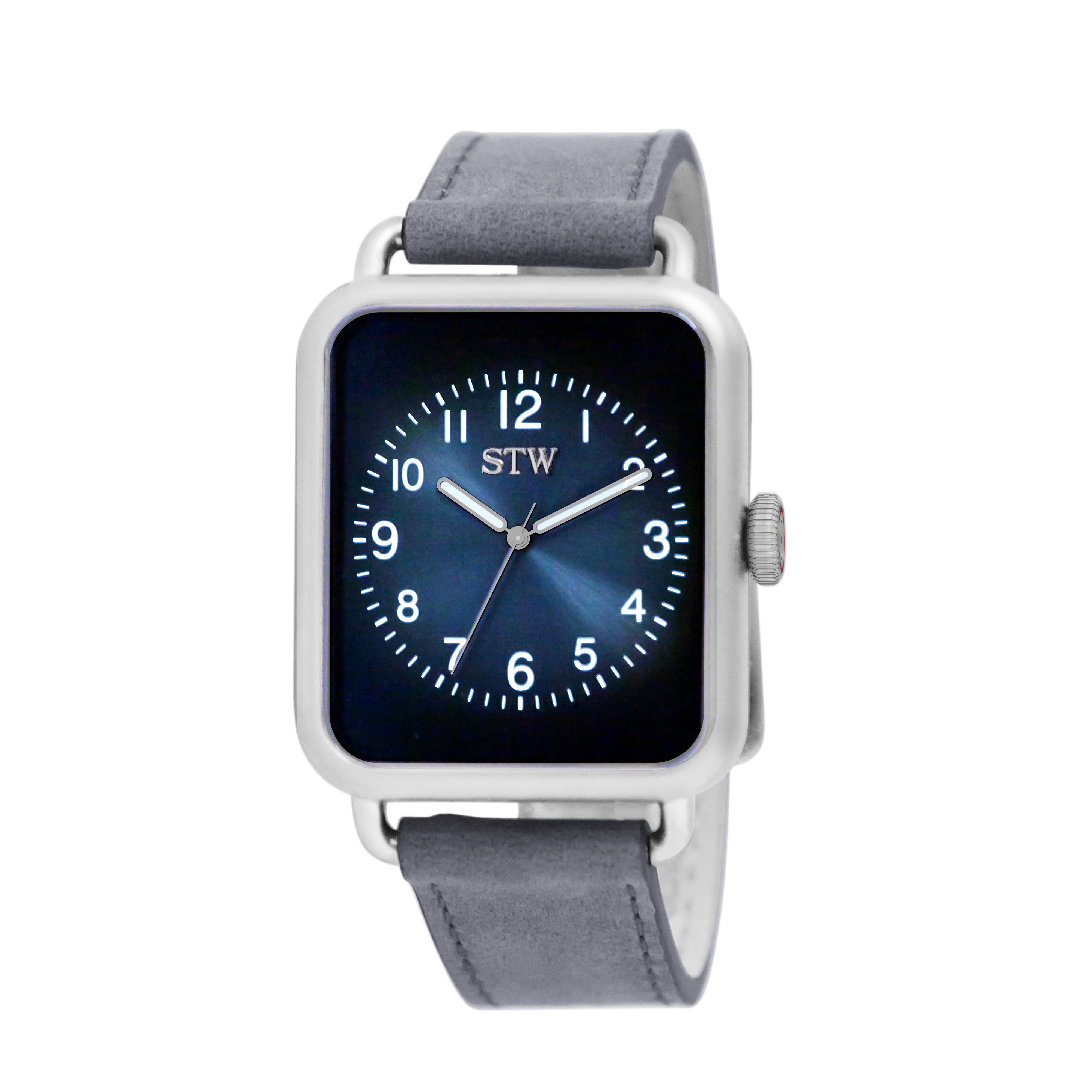 I-Series - BLUE DIAL / SILVER MESH BAND WATCH