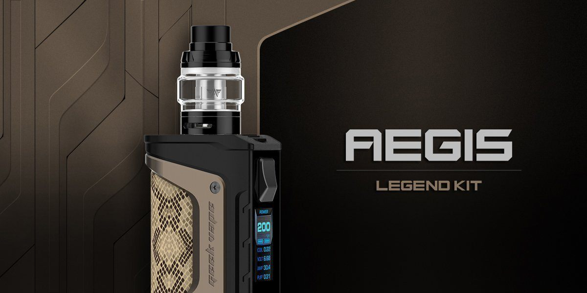 Geekvape Aegis Legend Vape Mod Review | Freeman Vape juice