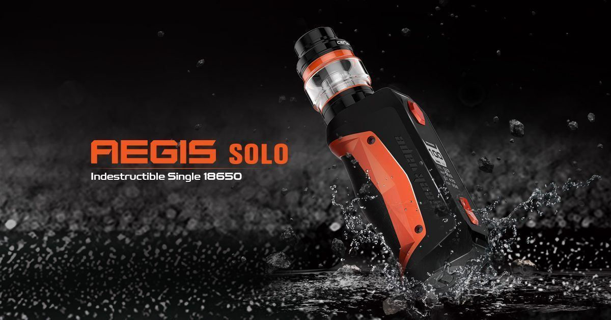 Geekvape Aegis Solo Review | Freeman Vape juice