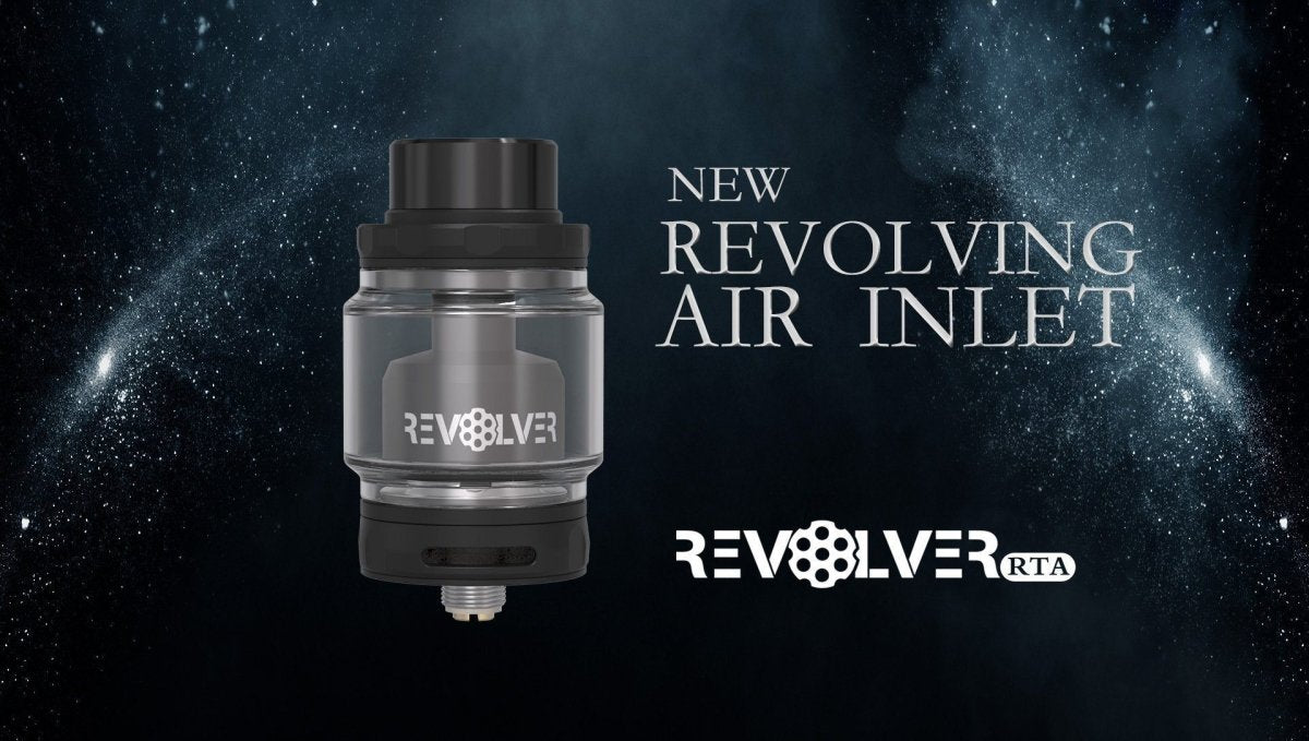 Vandy Vape Revolver RTA Review Flavor All Day Long | Freeman Vape juice