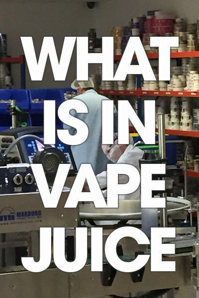 What Is In Vape Juice? | Freeman Vape juice