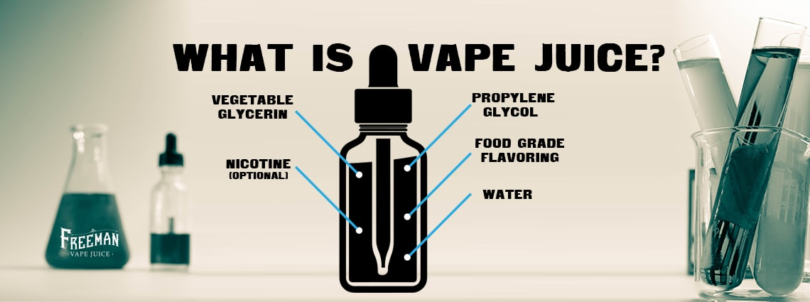 What is vape juice? - Freeman Vape juice