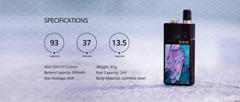 lost vape orion dna go mod specs and lowest price available